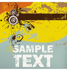 Grunge Background for Design vector image