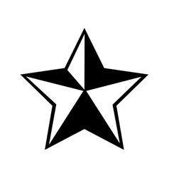 Star sheriff cowboy icon graphic vector