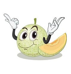 Rusk melon vector