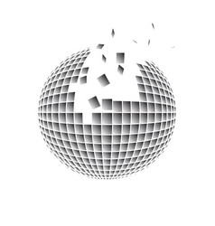 Sphere disintegration vector