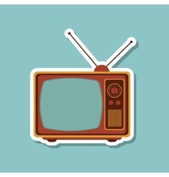 Television icon design vector