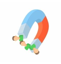 Finding employees concept icon cartoon style vector