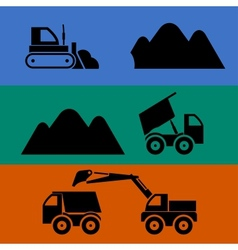 Mining and transportation of sand vector