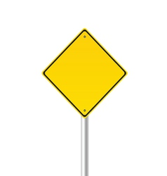 traffic sign color vector image