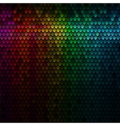 Color squama texture abstract scale pattern vector