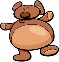 Teddy bear cartoon vector