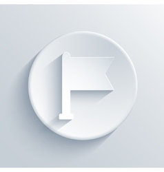 flag icon Eps 10 vector image