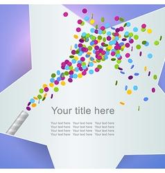 celebration5 vector image vector image