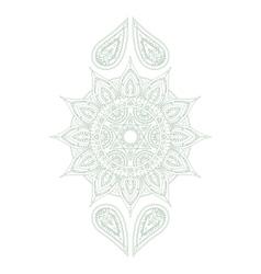 Chakra Anahata vector image