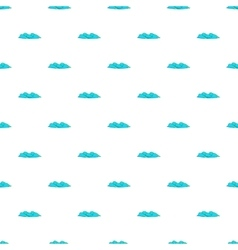 Waves pattern cartoon style vector image