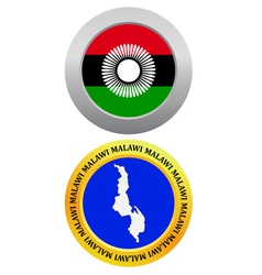 button as a symbol MALAWI vector image