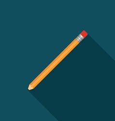pencil icon v vector image