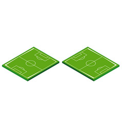 3d design for football field vector