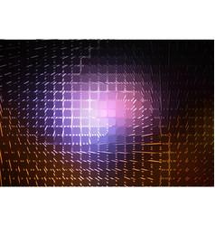 Purple brown black glowing spiral background vector