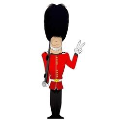 Queen soldier vector