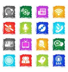 Communication icon s vector