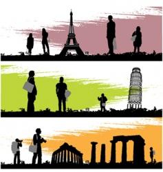 tourism vector image