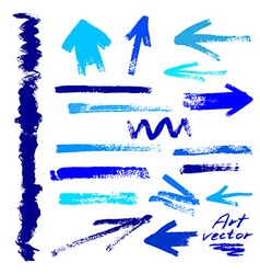 abstract art elements vector image vector image