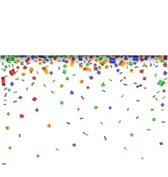 Colorful strip celebration background with vector image
