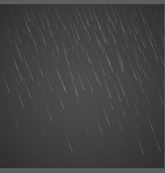 Transparent rain drops isolated on abstract vector