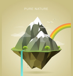 Pure nature vector