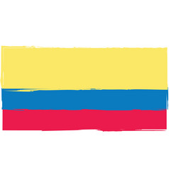 abstract ecuadorian flag or banner vector image