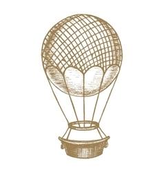Ballon Hand Draw Sketch vector image