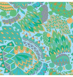 Decorative Background for Fabric vector image vector image