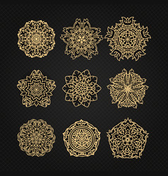 design elements graphic thai design vector image vector image
