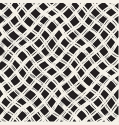 Hand drawn seamless plaid pattern allover pattern vector