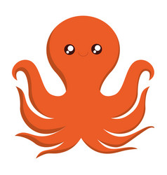 Octopus icon image vector