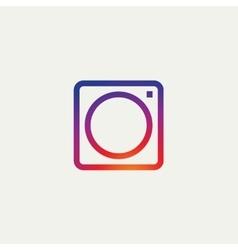 Social media icon photo camera instagram icons vector