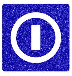 Switch icon grunge watermark vector