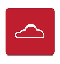 weather cloud vector image