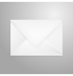 open envelope letter isolated on white vector image vector image