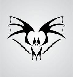 Tribal bat vector