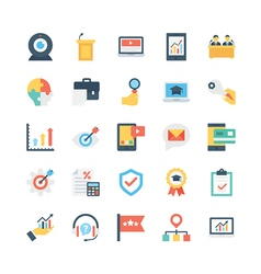 Business icons 13 vector