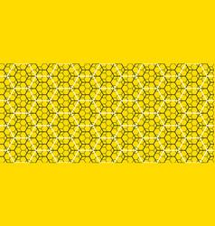 Geometry line hexagonal seamless pattern vector