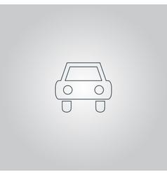 Old Car Icon vector image