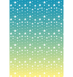 Star and dot line tropical abstract background vector