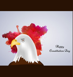 usa constitution day vector image