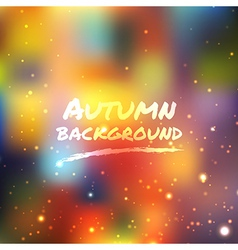 Colorful shine light background vector image