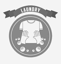 Laundry service design vector