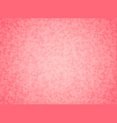 pink color mosaic background vector image