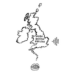 United Kingdom vector image vector image