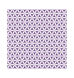 Violet flower of life sacred geometric seamless vector