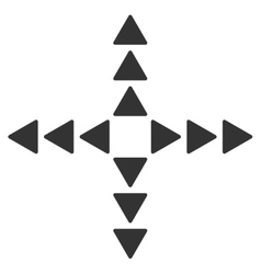Outside direction icon vector