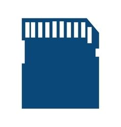 Sd card secure digital vector