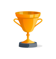 sport competition golden prize isolated icon vector image vector image