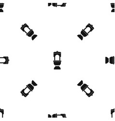 toilet bowl pattern seamless black vector image vector image